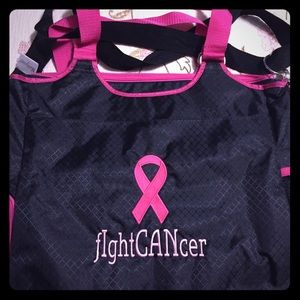I CAN FIGHT CANCER Thirty one All Pro Tote New